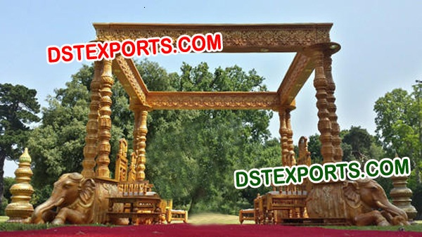 ROYAL INDAIN WEDDING ELEPHANT MANDAP