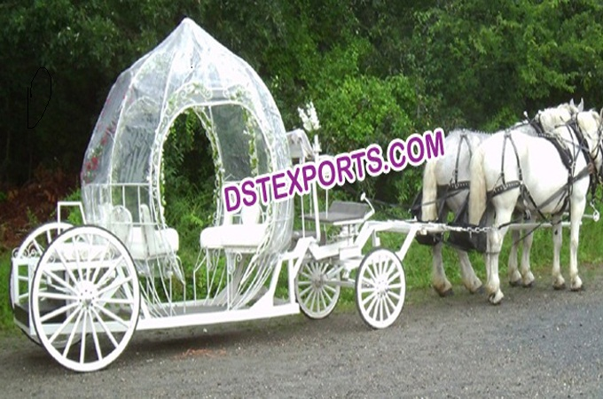 New Wedding Pumpkin Cinderella Carriage
