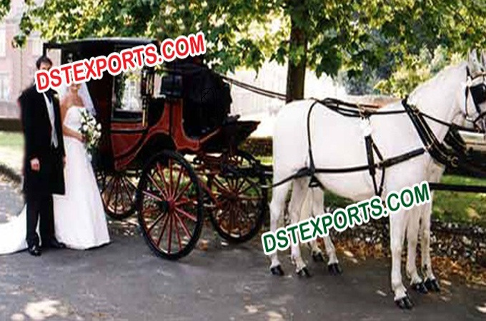 Latest Wedding Horse Buggy