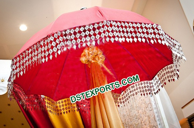WEDDING DECORATIVE RED UMBERALLA