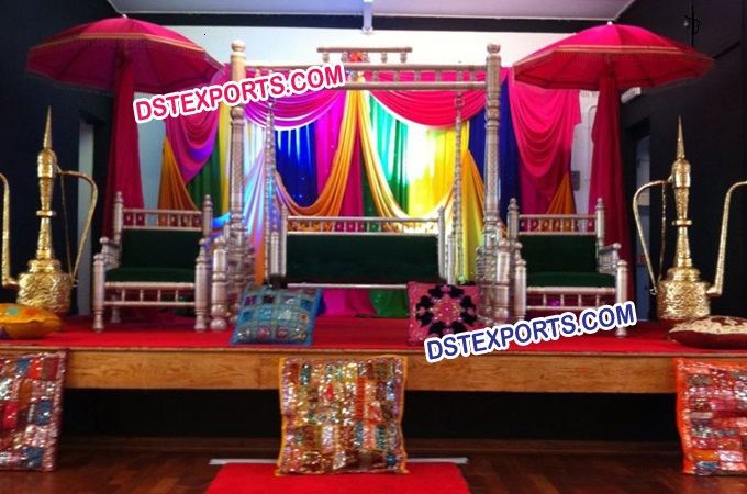 Punjabi Wedding Sangeet Decoration
