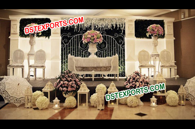 English Wedding Elegant Stage