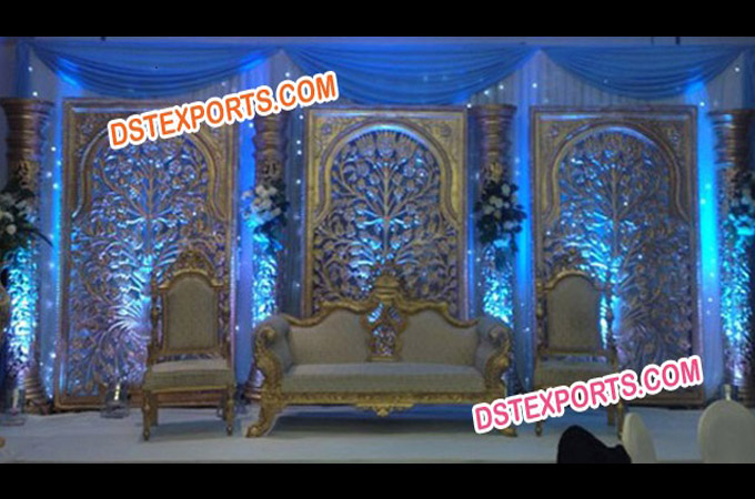 Beautiful Asian Wedding Stage Set