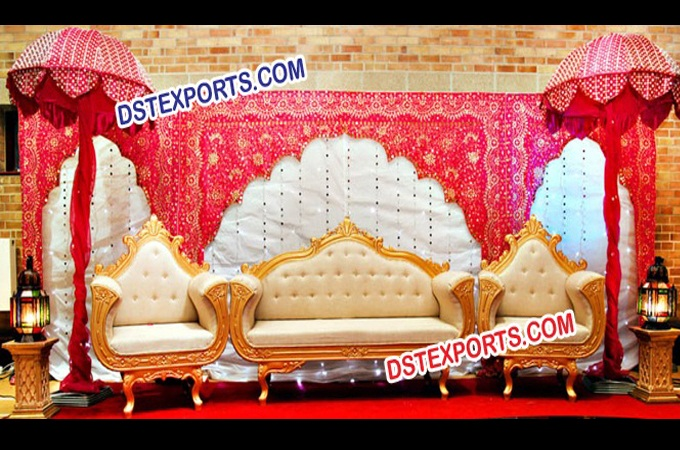 Indian Wedding Stage Decor