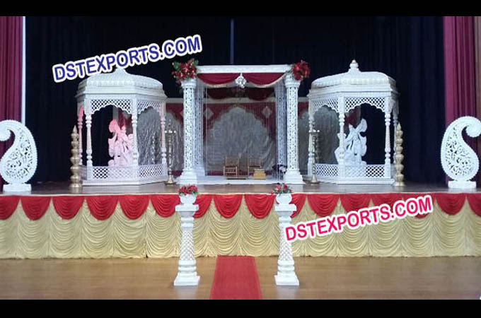 Indian Wedding Krishna Pearl Mandap