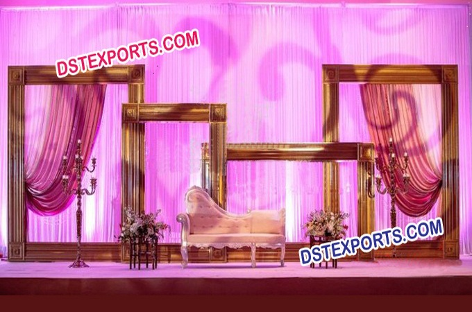 Wedding Backdrop Stage Photo Frames