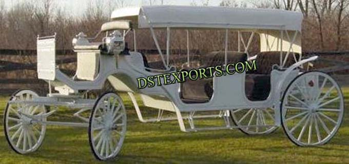 Wedding Limousin Horse Carriages