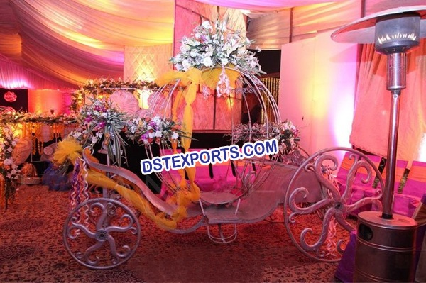 Wedding Bridal Entry Hnad Driven Buggy