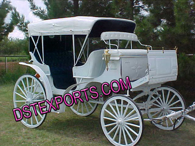 Wedding Covered Horse Carriages