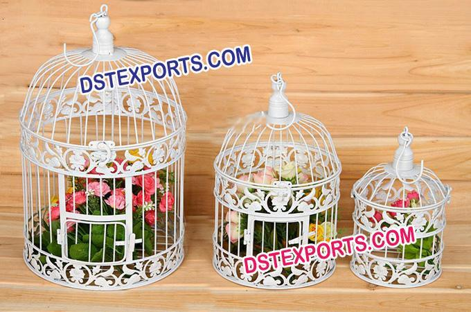 Indian Hanging Bird Cage For Decorations