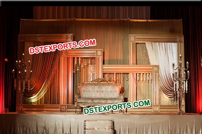 Wedding Stage Backdrop Photo Frame