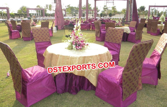 Latest Design Cloth Wedding Chair Covers