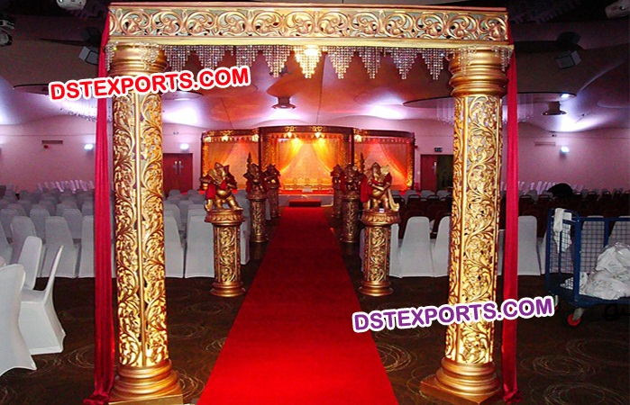 Spacious Wedding Fiber Welcome Gate