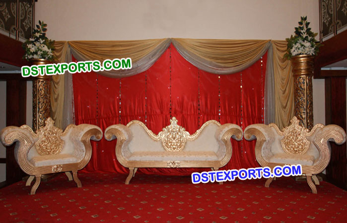 Royal Look Asian Wedding Furniture Set