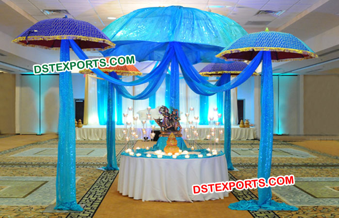 Indian Wedding Decoration Umbrella