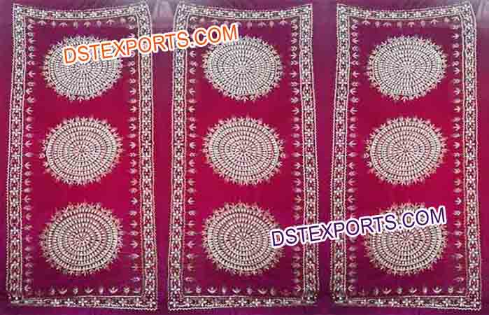 Wedding Sangeet Embroidered Backdrop