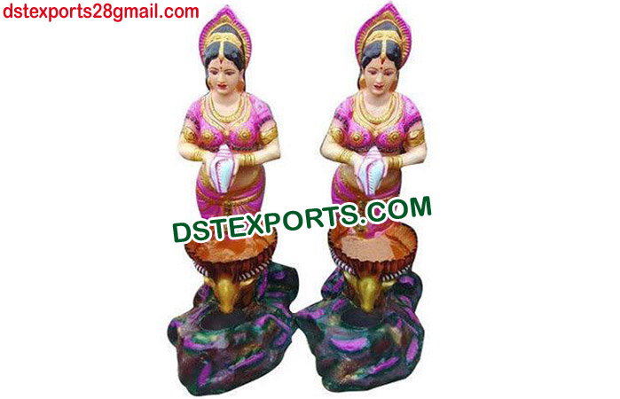 Indian Wedding Welcome Lady Statue