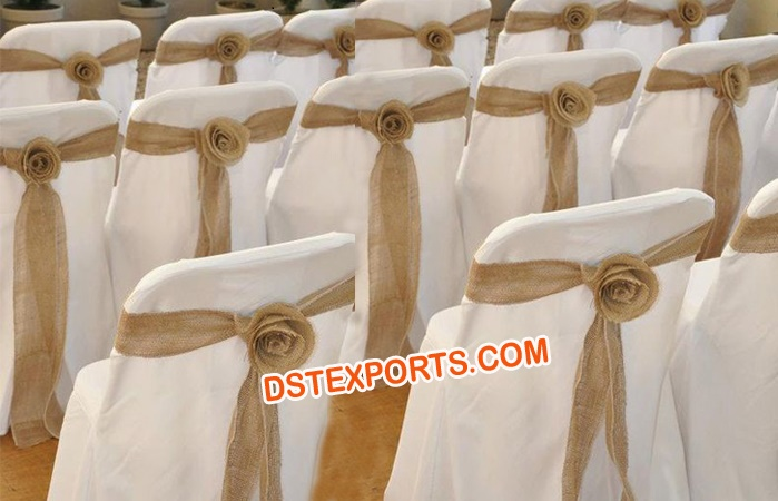 Lycra Wedding Chair Cover With Sashas