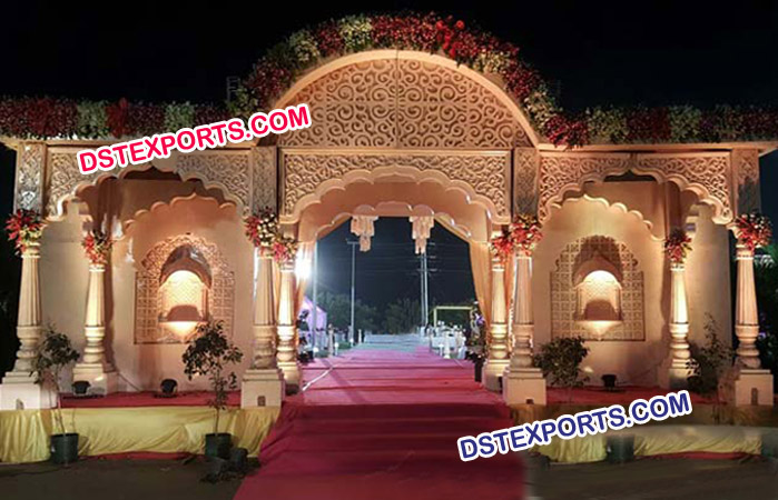 Wedding Fiber Welcome Entrance Gate