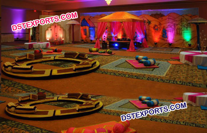 Night Sangeet Mehandi Stage