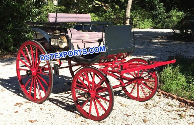 Two Seater Horse Drawn Carts Carriages
