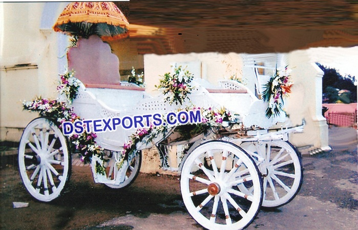 Wedding Victoria Horse Drawn Carriage