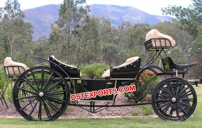 Open Wedding Horse Carriage