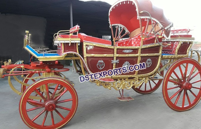 Traditional Wedding Carriage