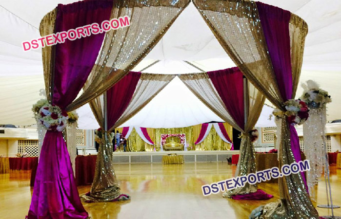 Pipe and Drapes For Wedding