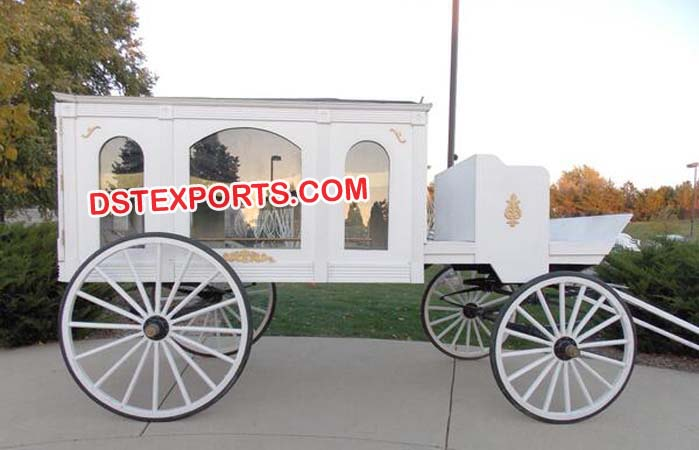 Funeral Horse Drawn Carriages Buggy