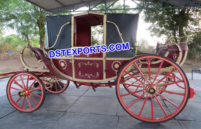Royal Presidential Horse Carriage Buggy