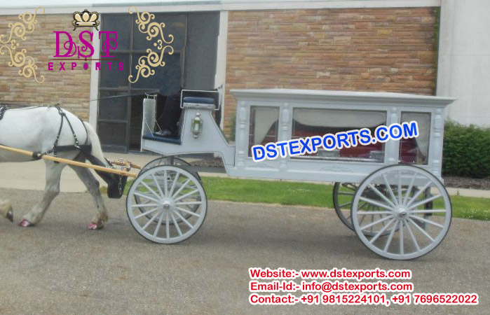Funeral Horse Carriage