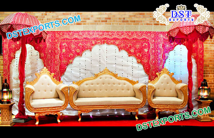 Grand Wedding Sofa Set Decorations