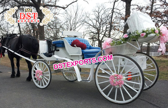New Style Wedding Victoria Horse Buggies