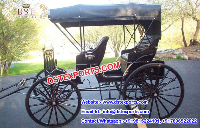 Small Pony Driven Horse Carriage for Sale