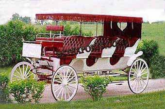 Three Seater Horse Carriages