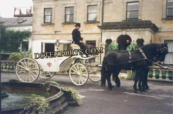 White Royal Carriages