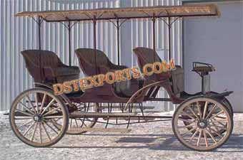 Three Seater Surreys Carriage
