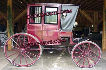 Antique Covered Horse Carriages
