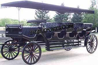 Long Four Seater Carriages