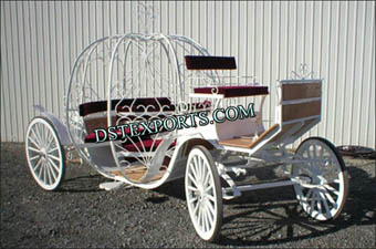 Flower Decorated Cinderella Carriages