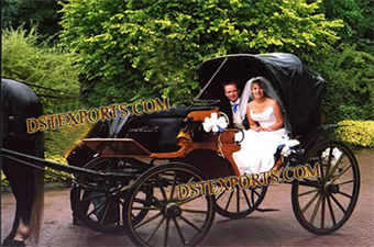 Wedding Black Victoria Carriages