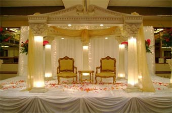 Decorated Lighted Weddings