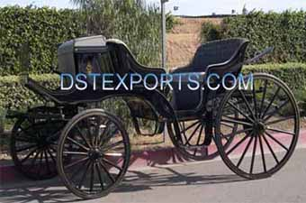 Black Vis A Vis Victoria Carriage For Sales