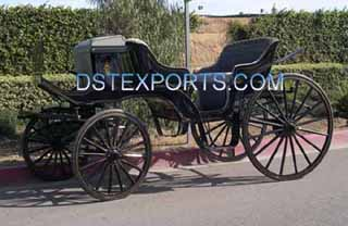 Black Vis A Vis Victoria Carriage Manufacturer