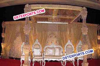Latest Wedding Crystal Mandap/Pagoda For Sale