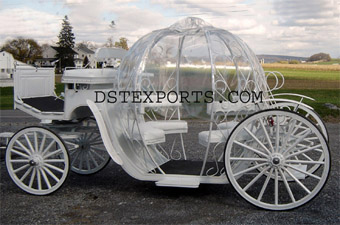 New Covered Cinderela Carriage For Sale