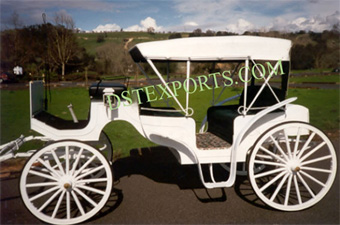 New Covered Vis A Vis Carriage For Sale