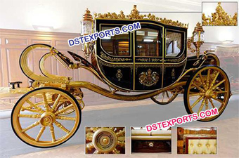 Beauitful Gold Royal Carriages For Supplier