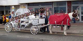 Wedding Designer Cindrella Carriages For Sale